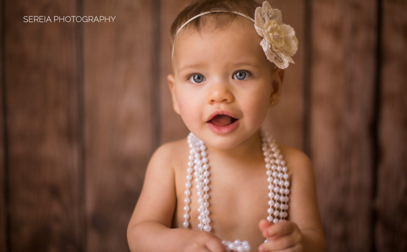 Baby Photo Session in Studio - San Diego
