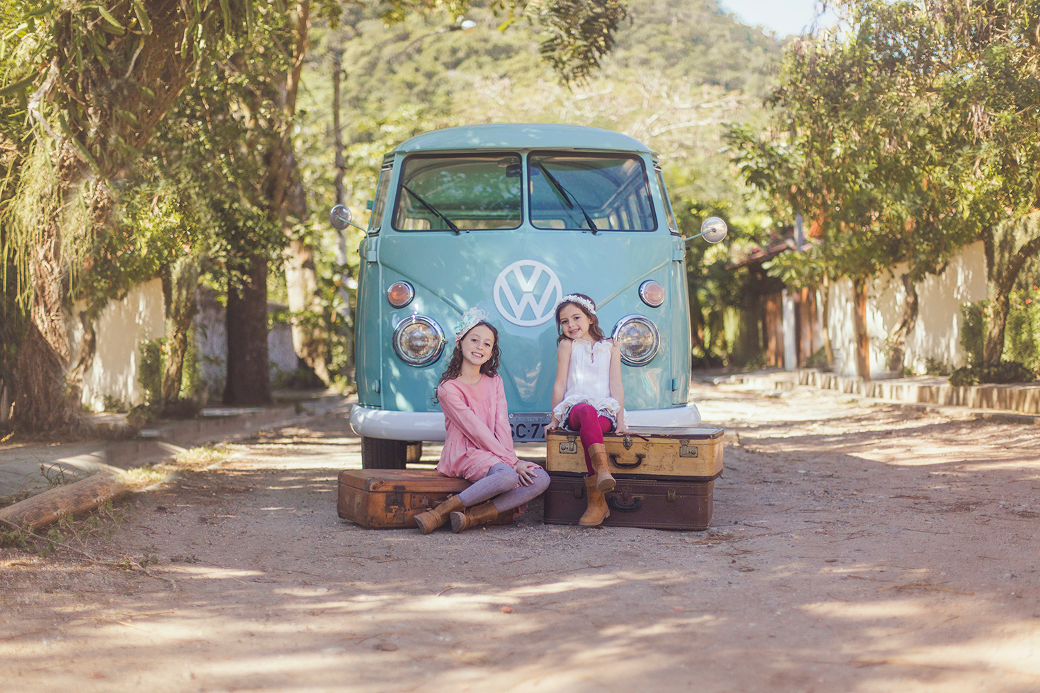 VW Bus Photo Session - San Diego Child Photographer