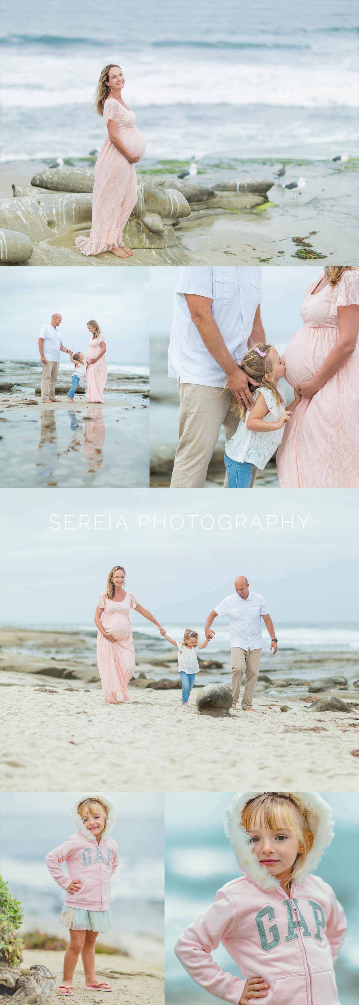 San Diego Maternity photographer - La Jolla Beach