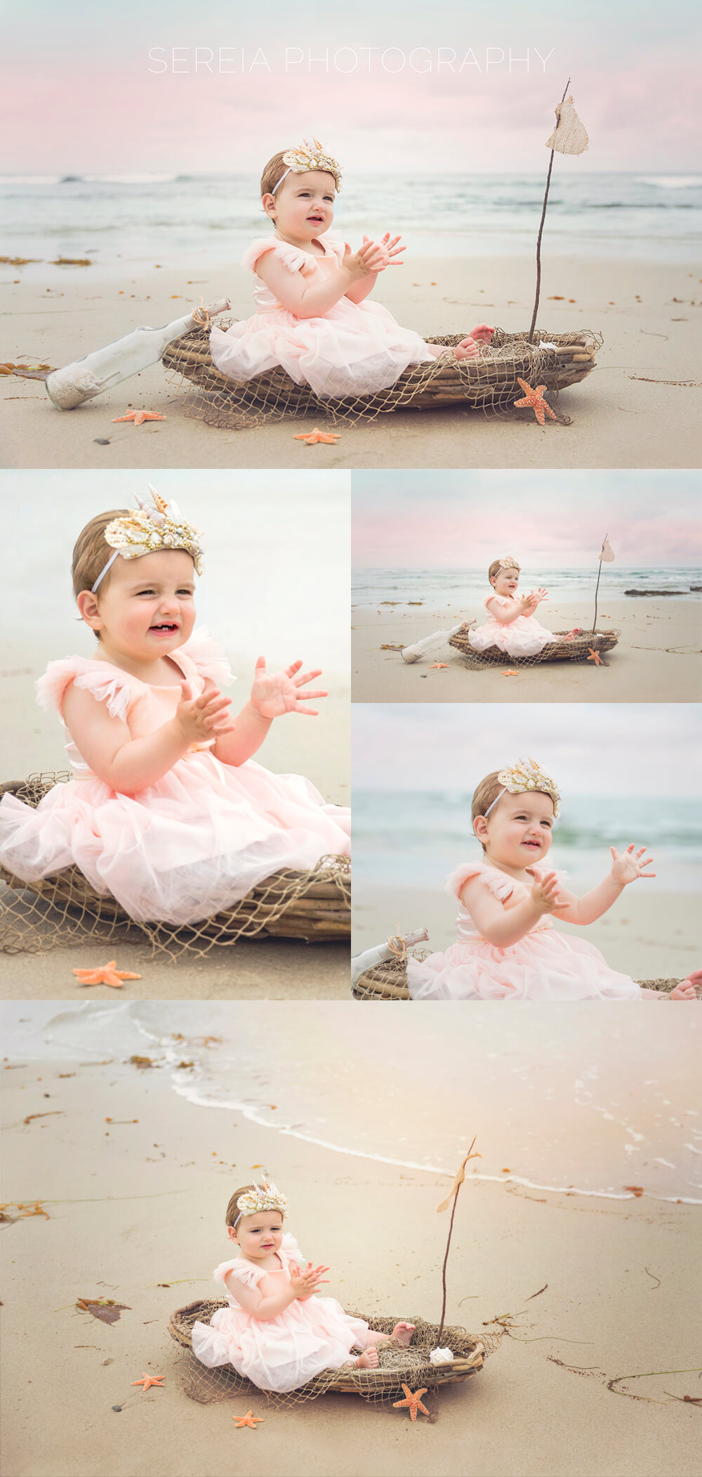 Mermaid Photo Session - La Jolla Baby Photographer