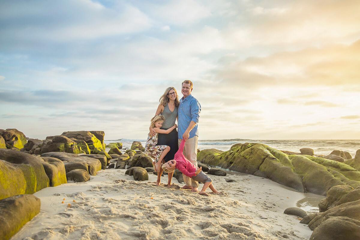 La Jolla Family Photography - San Diego Beach Photography