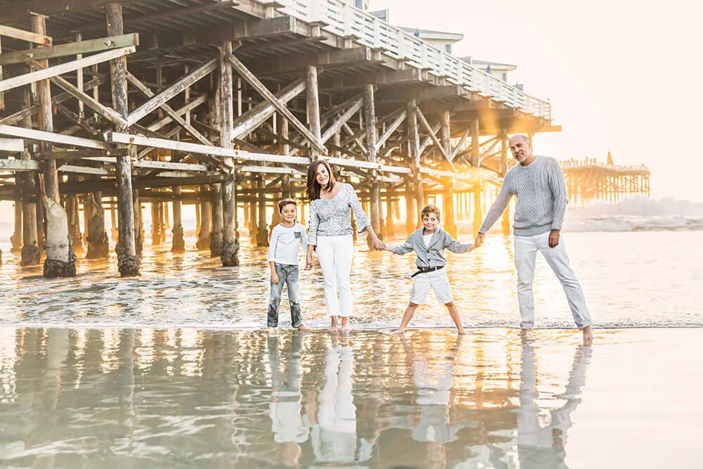San Diego Family Beach Photographer