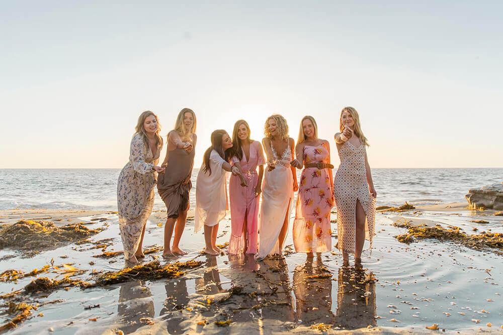 Beach Bachelorette Photo Session La Jolla