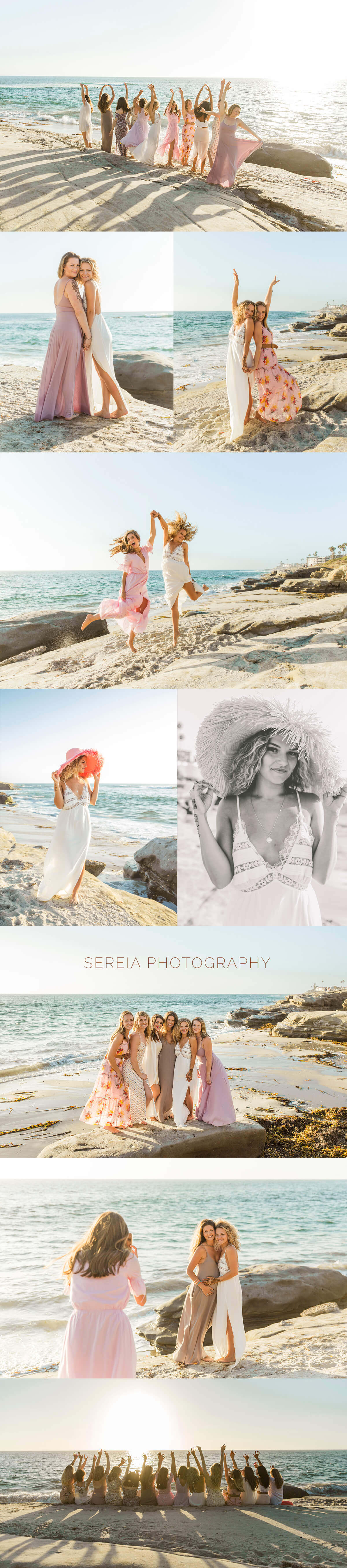 Beach Bachelorette Photo Session La Jolla
